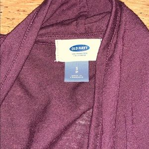 Old navy cardigan size small